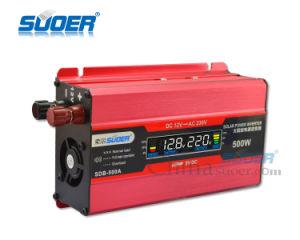 Visor LCD Suoer CC 12 V AC 220V para automóvel Inversor de Energia Solar 500 Watts (SDB-500A)