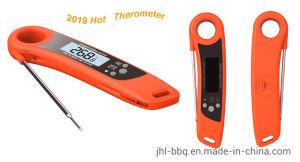 2019 Capteur de liquide chaud l'alimentation capteur de température avec sonde métallique et un écran plus grand aimant construit dans l'unité de température et de mémoriser