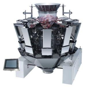 Automatische het Wegen Vullende en Verzegelende Machine met Weger Multihead (jy-PL)