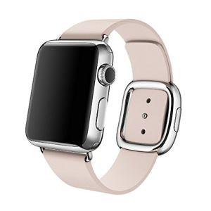 Cinghia moderna originale della fascia del cuoio genuino dell'inarcamento per la vigilanza del Apple