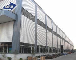 Marco estructural de la construcción de la Oficina edificios con estructura de acero prefabricados