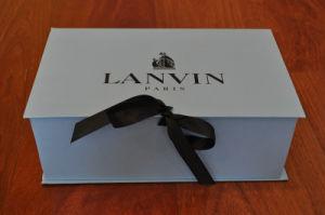 Custom Printingの高品質Paper Ragid Shoes Box