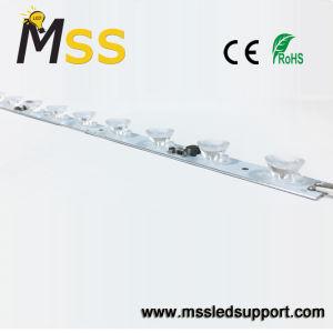 Lichte Aluminium dat van de LEIDENE Lichte LEIDENE van de Staaf Strook van zij-Lighhard het Stijve Lichte Doos adverteert
