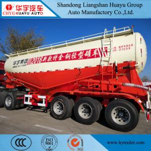 Transportador de cimento a granel cisterna de aço semi reboque