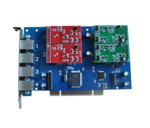 Carte Openvox astérisque TDM400P 4 carte PCI VoIP FXO FXS