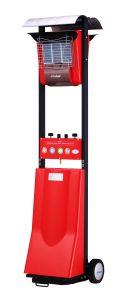 세라믹 가열기를 가진 가스 안뜰 히이터 8400 와트