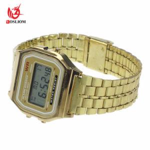 precio de fábrica de Pulsera de plástico de los hombres y mujeres Deportes Relojes de Pulsera Digital -V179