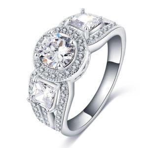 Grosses Stone Engagement Rings für Female (CRI0303-B)