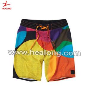 Shorts della spiaggia di stampa di sublimazione della tintura degli abiti sportivi di disegno di modo di Healong