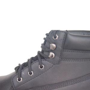 A mediados resistente a productos químicos en el tobillo obrero Zapatos de seguridad