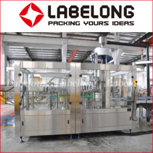 Té lechoso jugo fresco de la línea de producción de la máquina de llenado