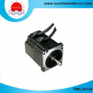 70BL3A120 de 310V 3000rpm del motor eléctrico motor DC Motor dc sin escobillas