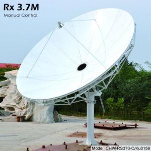 3,7 m Rx apenas a antena de satélite (Manual)