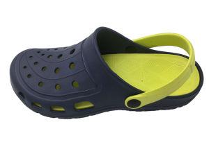 Les hommes de jardin piscine EVA occasionnels de boucher chaussures orange