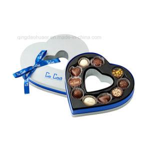 [هيغقوليتي] صنع وفقا لطلب الزّبون يخلو قلب يشكّل شوكولاطة يعبّئ [جفت بوإكس]
