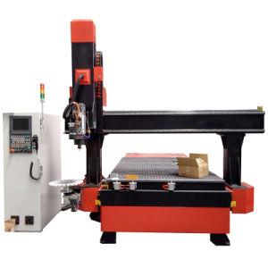 180度の木版画機械を移動するスピンドル