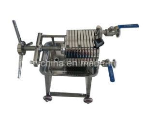 스테인리스 코코낫유 필터 기계, 고품질 격판덮개 및 프레임 필터