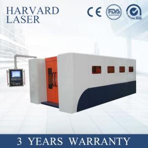 Tagliatrice standard del laser della fibra 3000With4000W senza errore