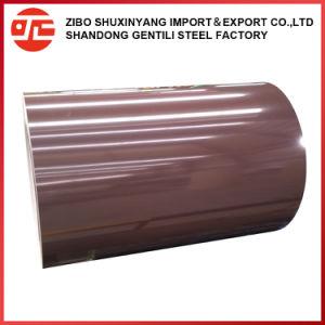 0.12-1.2mm 600-1250mm PPGI con varios de acero con recubrimiento de color