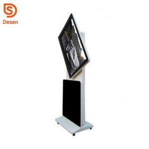 Girar 55 pulgadas Terminal quiosco público, Android 5.1 pantalla de información digital, IR WiFi de la pantalla táctil LCD Digital Signage