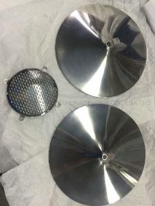 Polimento e Ouro máquinas CNC peças de alumínio anodizado