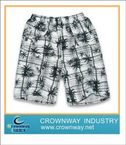 La scheda di stampa degli uomini mette gli Shorts in cortocircuito della spiaggia