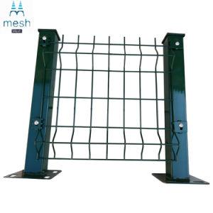 粉は358高い安全性の反上昇の電流を通された庭によって溶接された金網のパネルの塀に塗った