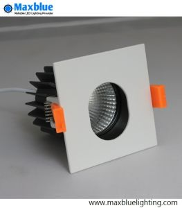 Alta calidad 10W blanco cálido, punto de luz LED regulable luz tenue
