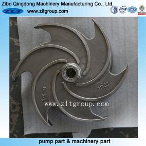 Acier inoxydable/Moulage d'investissement en acier au carbone le rotor de pompe centrifuge