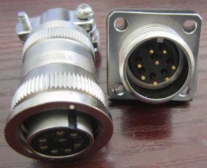 Acoplamiento roscado conectores circulares de la serie 26482