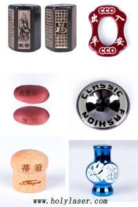 máquina de marcação a laser de CO2 de baixo custo para a etiqueta de vestuário