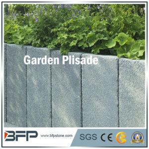 De grijze/Gele Palissade van de Steen van het Graniet voor het Ornament van de Tuin/Bouw