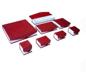 Casella del pacchetto dei monili del cartone (Lj08)