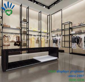Diseño de la pared de fábrica China escaparate para mostrar ropa