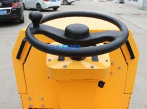 800kg二重ドラム販売のための小型アスファルトローラー