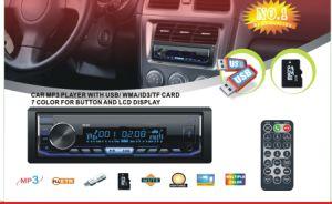 Carro de Alta Potência do Transmissor FM MP3 Mutil-Color Carro Player com Bluetooth