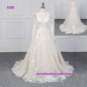 59b8f12c2 Vestido de novia vestidos de novia Manga Larga 2019 Diseños de ...