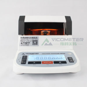 El tabaco en polvo de té microondas Nir Medidor de humedad de halógeno Vm-5s