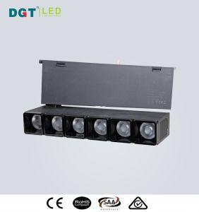 新しい磁気インストール済み調節可能なLEDの線形点Tracklight