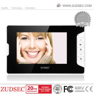 Macchina fotografica esterna impermeabile con il telefono del portello del video a colori dell'affissione a cristalli liquidi di 7  TFT per obbligazione domestica