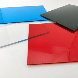 Haute qualité transparente en polycarbonate anti-UV Feuille de PC