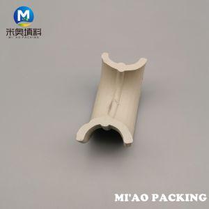 Torre de cerâmica de cerâmica de embalagem do anel de sela para a coluna de absorção