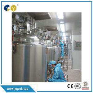 Sanitarios de acero inoxidable para Puried tanque de almacenamiento de agua, jugo, leche, productos lácteos
