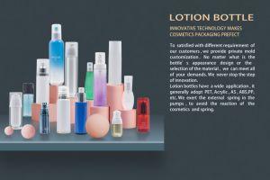 Loción/Acrílico /Gotero Airless /Jar/crema cosmética de plástico para botellas