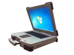 17 Ruwe Laptop van de Rang I7-7600 van de duim Militaire mil-norm-810