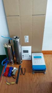 Acero inoxidable 2.5HP Solar centrífuga sumergible bomba de agua (4SPSC9/125-D216/1800)