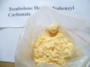 Hexa jaune de Tren de carbonate de Trenbolone Hexahydrobenzyl de poudre