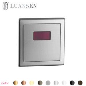 Luansenの自動浴室センサーの3穴の洗面器Upcのコック