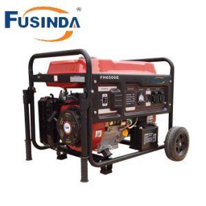 Fusinda 힘 6 의 000 와트 GFCI 출구를 가진 가솔린에 의하여 강화되는 전기 시작 발전기