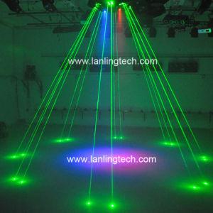 Осьминог светодиод лазерный свет, Большие Lase Показать Len830гг